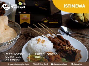 Aqiqah Surabaya Nurul Hayat paket Istimewa