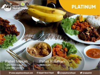 Aqiqah Surabaya Nurul Hayat paket Platinum