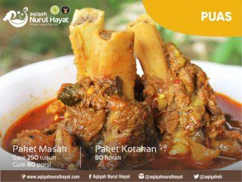 Aqiqah Surabaya Nurul Hayat paket Puas