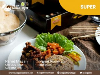 Aqiqah Surabaya Nurul Hayat paket Super