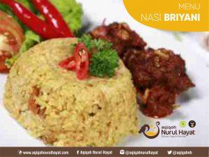 Aqiqah Surabaya Nurul Hayat Nasi Briyani
