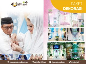 Aqiqah Surabaya Nurul Hayat paket Dekorasi Aqiqah